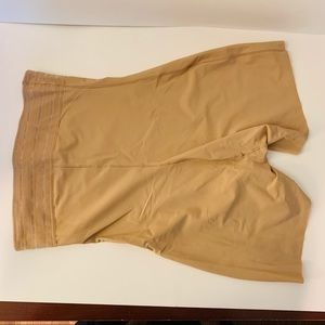 Assets by Spanx Nude Shaper Shorts--L